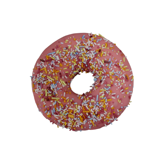 dunkin strawberry frosted ring