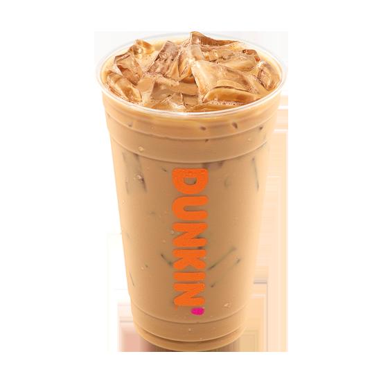 Dunkin Iced Latte